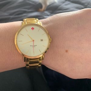 Kate Spade gold watch.
